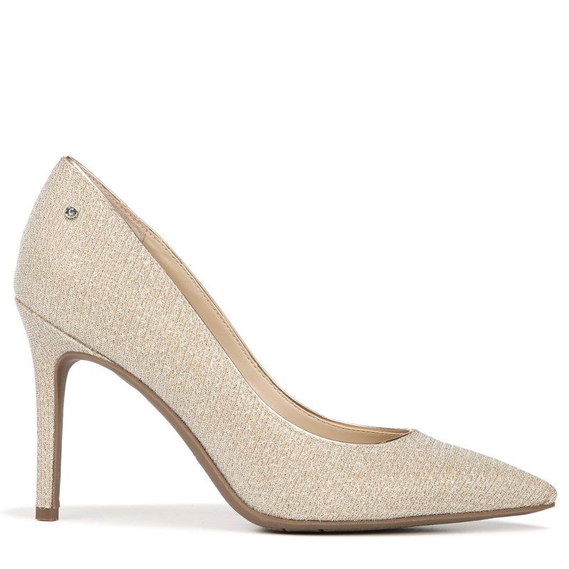 2b5131a8d66e80 Circus by Sam Edelman Women s Mina Pump Shoes (Gold Mesh)