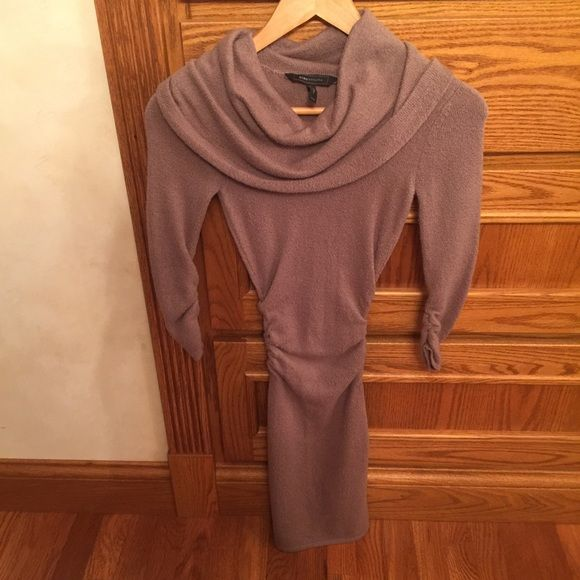 NWOT BCBG gorgeous sweater dress This is a soft cozy beautiful sweater dress. NO trades BCBG Dresses