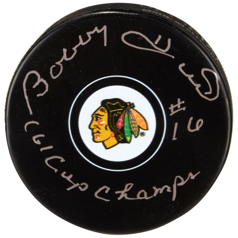 Bobby Hull Chicago Blackhawks Fanatics Authentic
