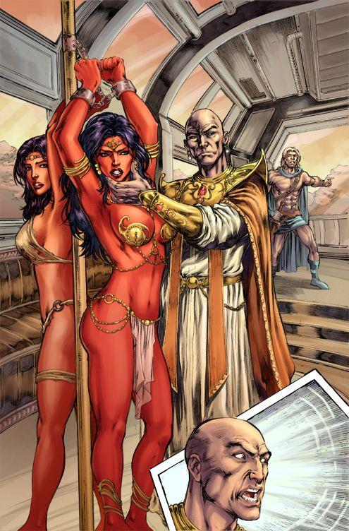 Warlord Of Mars 22 By Thiagoribeiro Deviantart Com On border=