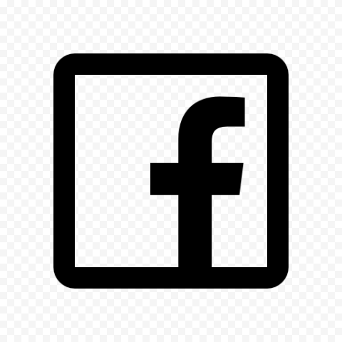 Black Square Outline Facebook Icon Citypng Facebook Icons Facebook Icon Png Logo Facebook