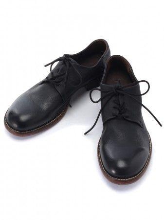 marchercher マーシェルシェ 外羽根プレーントゥシューズ mc 20020 革靴 靴 おしゃれ 靴