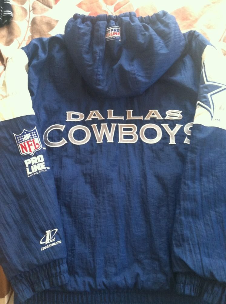 buy online b6577 95fc8 Classic Retro Dallas Cowboys Authentic Pro Line Logo ...