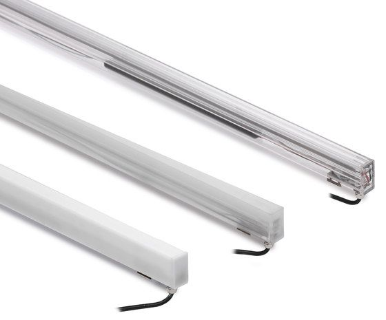 Recessed Lighting Bulb Sticks Out : Led lights recessed wall paseo linea light