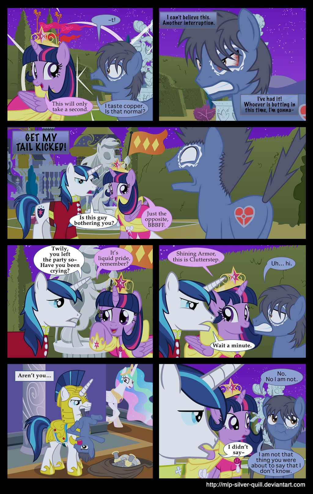 A Princess' Tears - Part 25 by MLP-Silver-Quill.deviantart.com on @deviantART