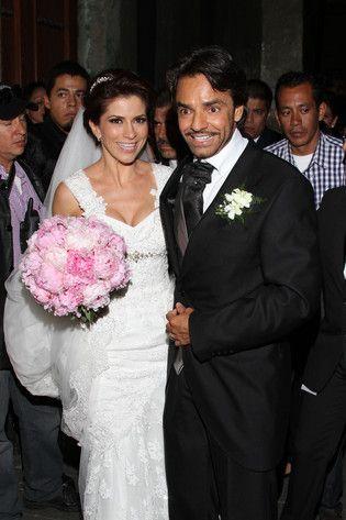 Eugenio Derbez Y Alessandra Rosaldo Wedding Wedding Dresses Celebs