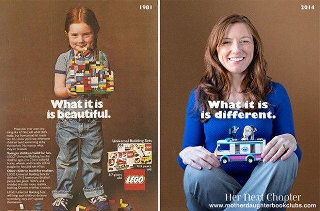 The girl from the 1981 Lego ad is now a doctor and still loves it