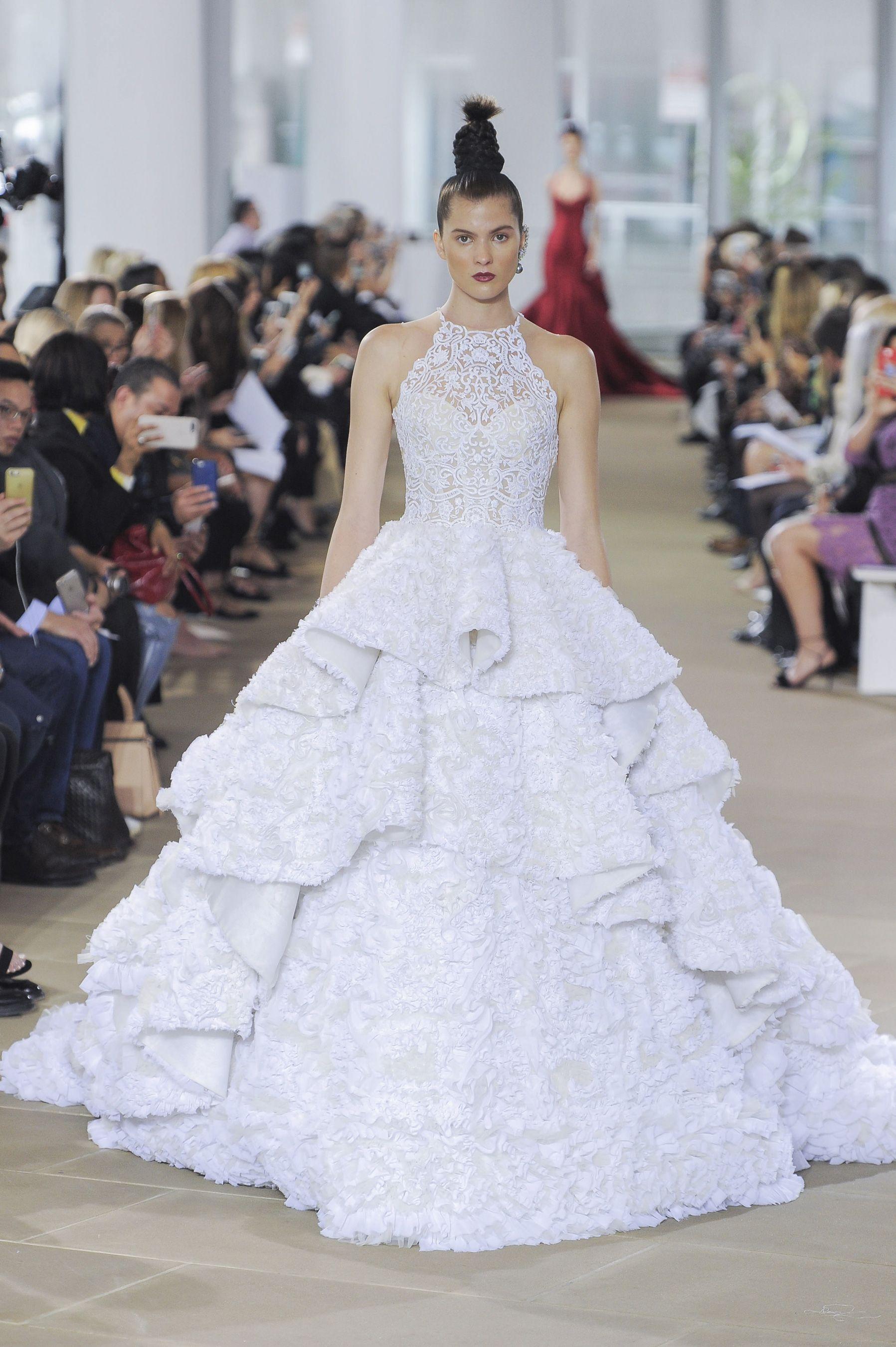 Randy fenoli wedding dresses  Ines Di Santo Spring  Bridal Fashion Show  The Impression
