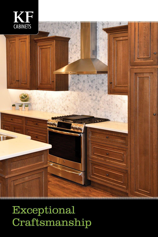 Exceptional Craftsmanship In 2020 Custom Kitchens Quality Kitchen Cabinets Custom Kitchen Cabinets