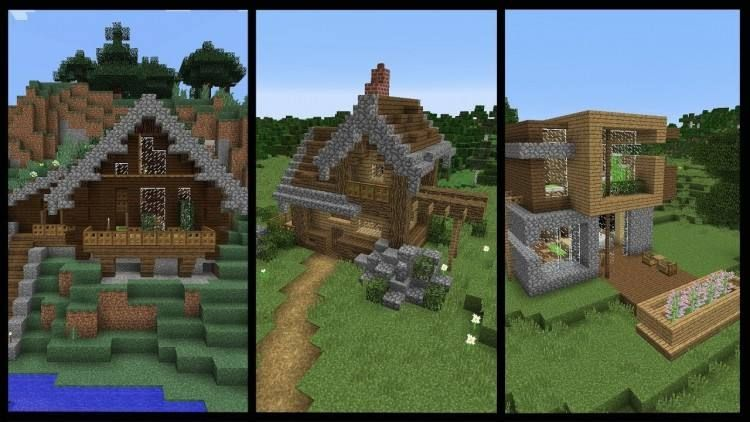 Good Minecraft Survival House Designs Minecraft Houses Minecraft Starter House Minecraft Houses Survival