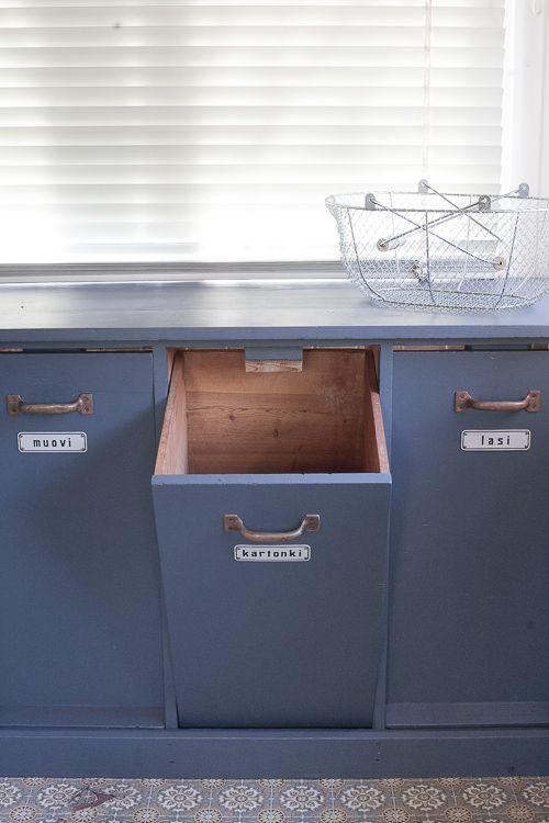 Diagnoosi:sisustusmania: Kyllä nyt kelpaa kierrättää.