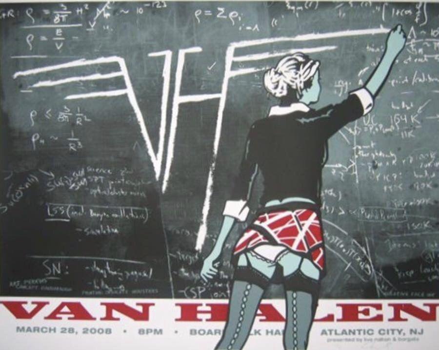 Pin By Joe A Escamilla On Edward Van Halen Concert Poster Art Concert Posters Van Halen