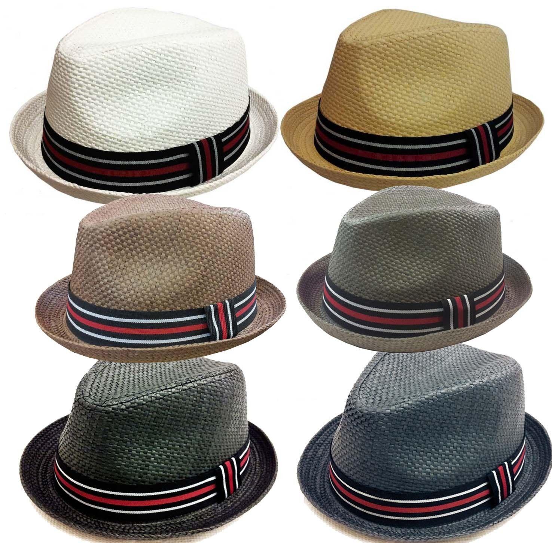 Dervy Fedora Trilby Gangster Fedora Bucket Hat Men Women Cap  f75fcf25faf