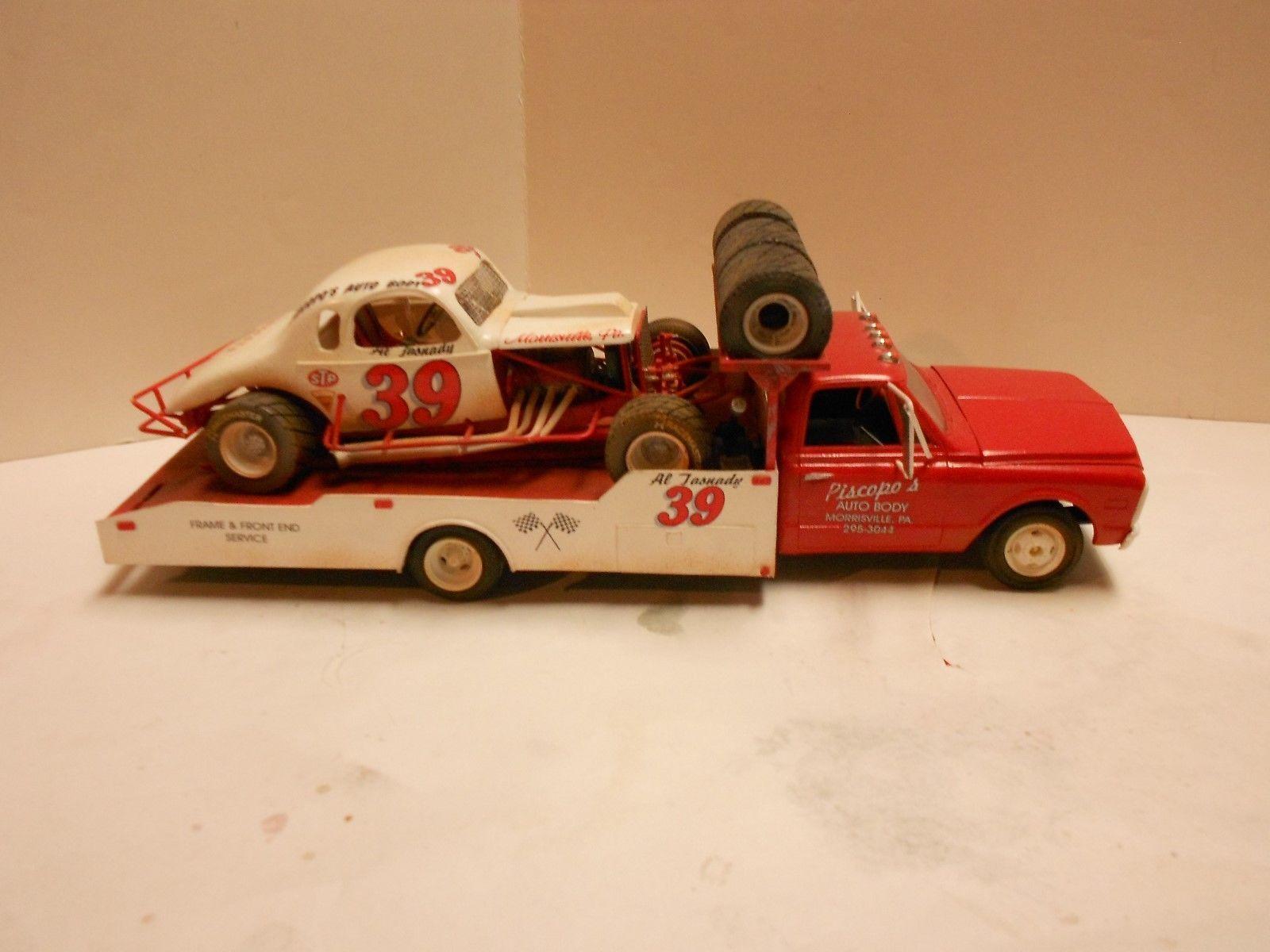 BUILT AL TASNADY MODIFIED MODEL AND HAULER eBay Car