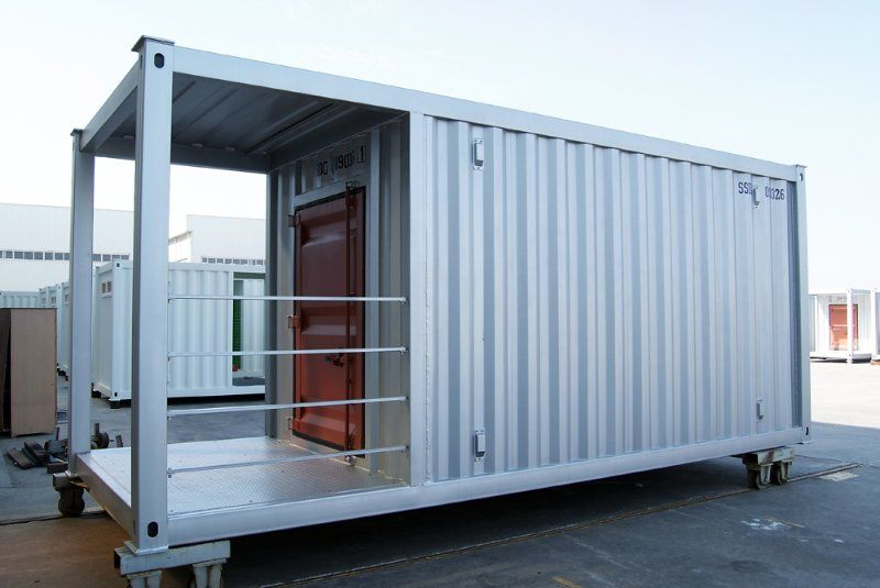 20 Feet Container House The Steel Frames Container House House Modular Homes