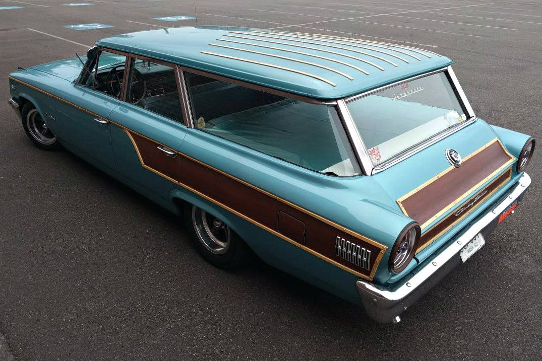 Genuine Wood 1963 Ford Galaxie Country Sedan Ford Galaxie Ford Classic Cars Station Wagon Cars
