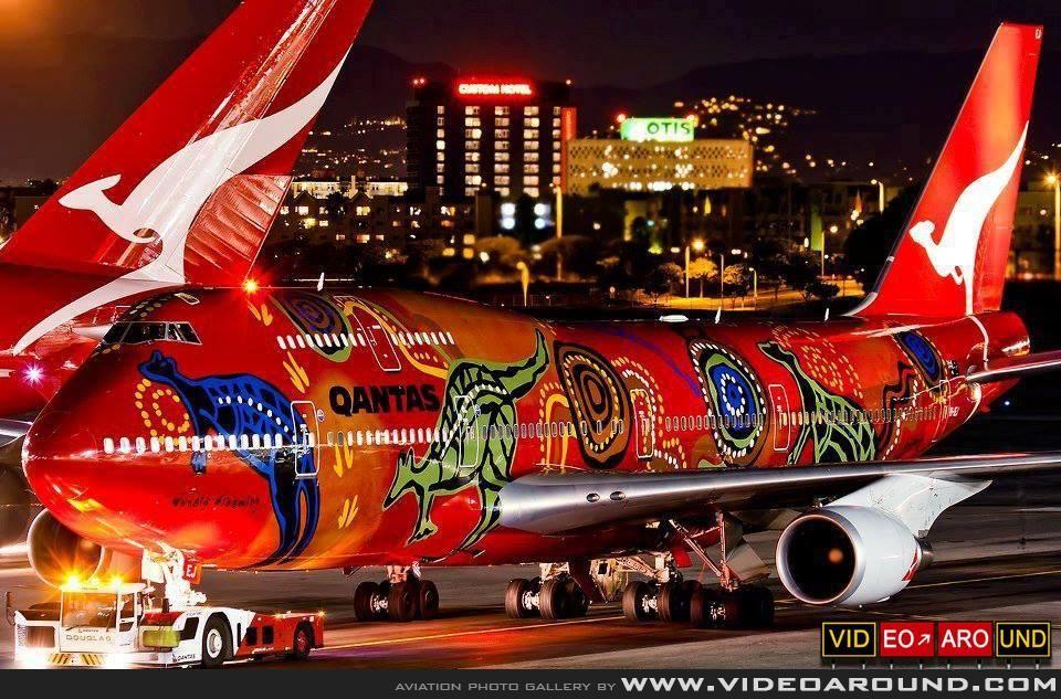 Aviation Photo Gallery | Quantas B747