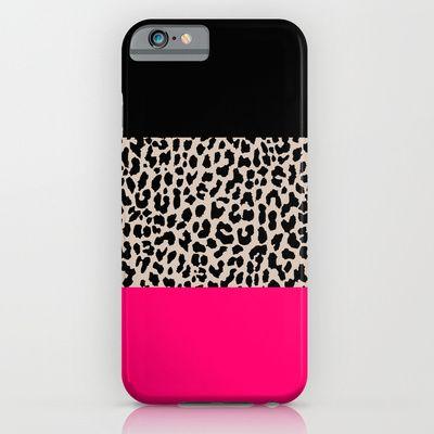 Leopard National Flag IV iPhone Case by Mango Tangerine Studio