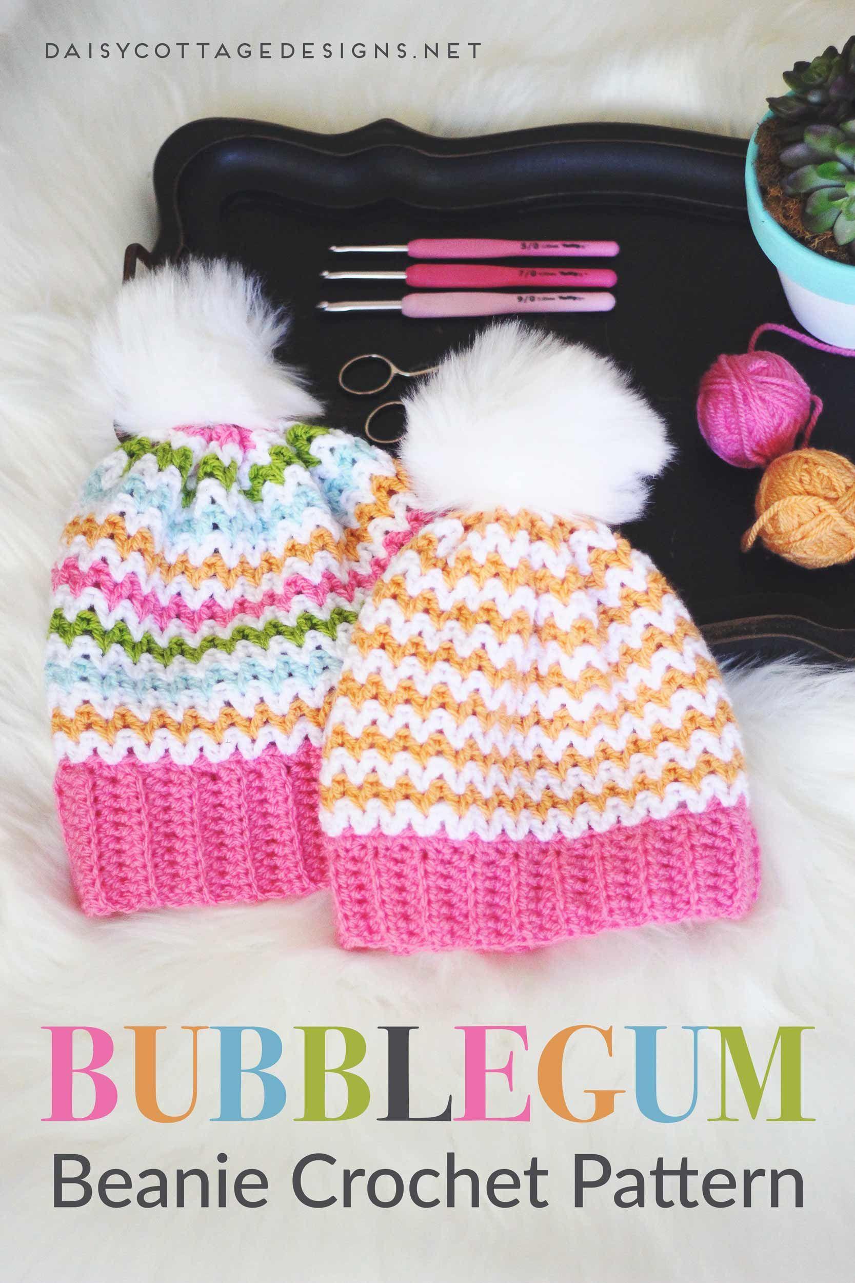 Slouchy Beanie Crochet Pattern | Gorros, Gorro tejido y Tejido