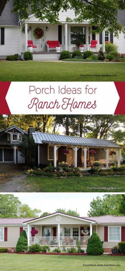 46+ Ideas Small Front Porch Remodel Ideas Curb Appeal #frontporchideascurbappeal 46+ Ideas Small Front Porch Remodel Ideas Curb Appeal #remodel #frontporchideascurbappeal
