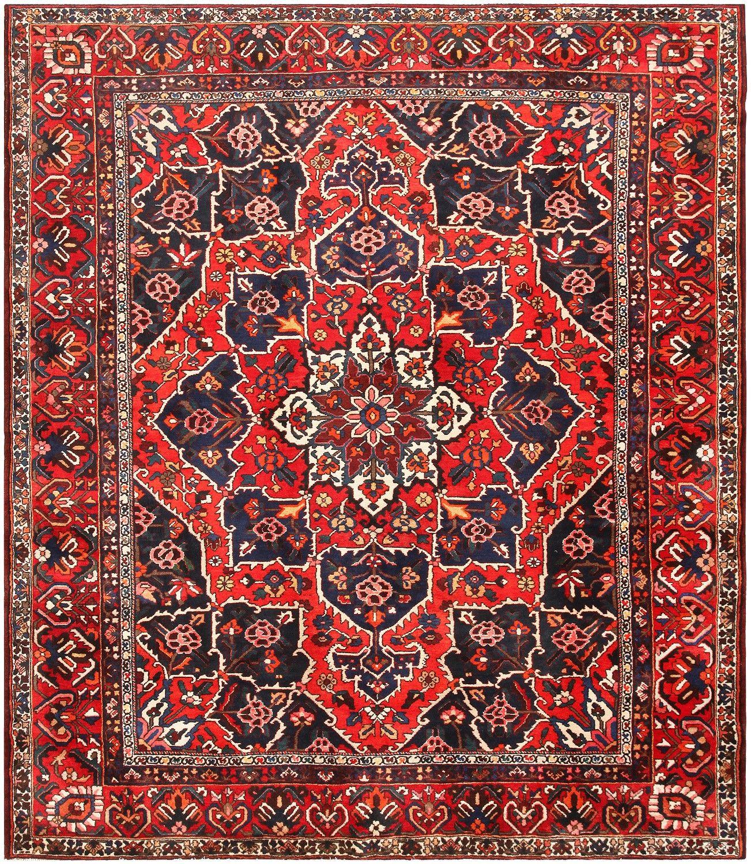 Bakhtiari Rug Antique Persian Carpet Nazmiyal Nyc