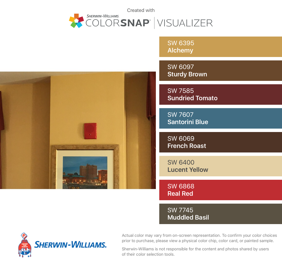 I Found These Colors With Colorsnap