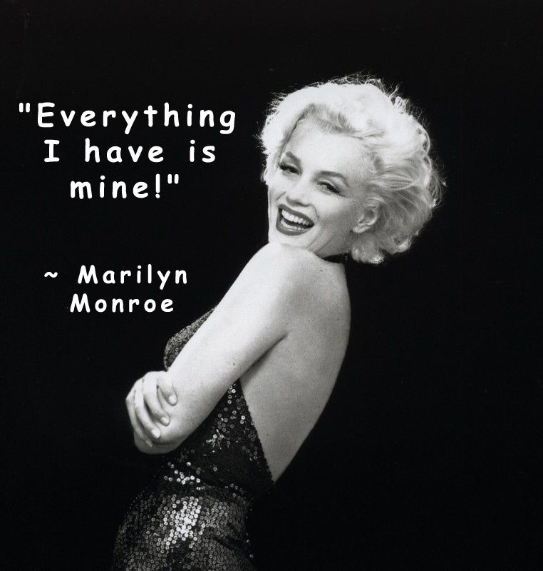 Marilyn Monroe New Years Quotes: REAL Marilyn Monroe Quotes