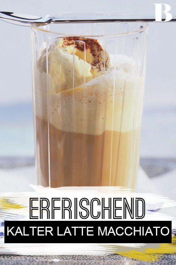 Kalter Latte Macchiato #lattemacchiato
