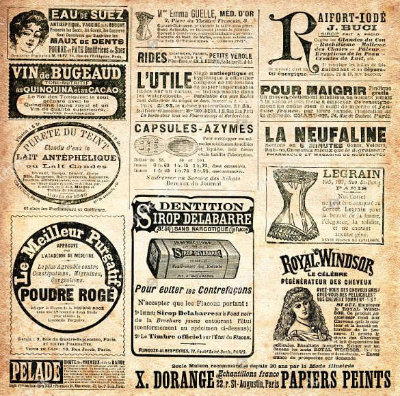 Pin By Fyre Rayne On Paper Crafts    Vintage Newspaper