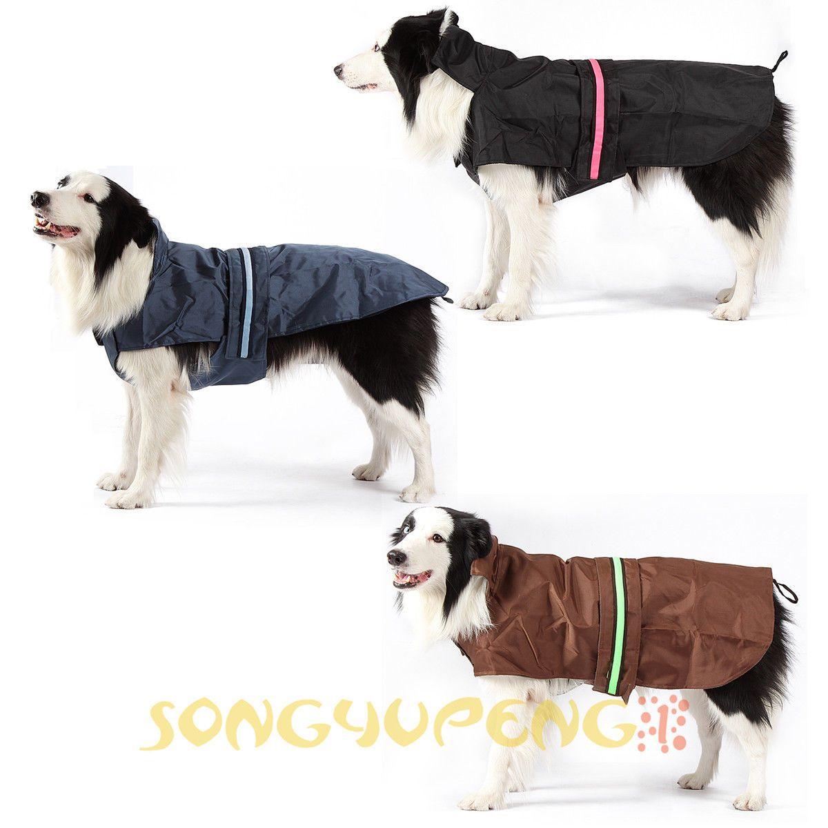 Pet Dog Anti Static Luminous Rain Coat Waterproof Raincoat Jacket Coats Jackets Waterproof Dog Coats Raincoat Jacket Best Rain Jacket