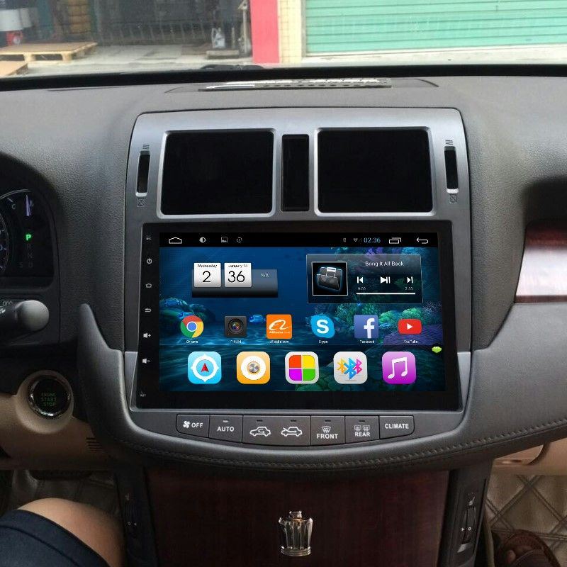 Car Android Gps Navigation System For Toyota Crown Majesta Crown