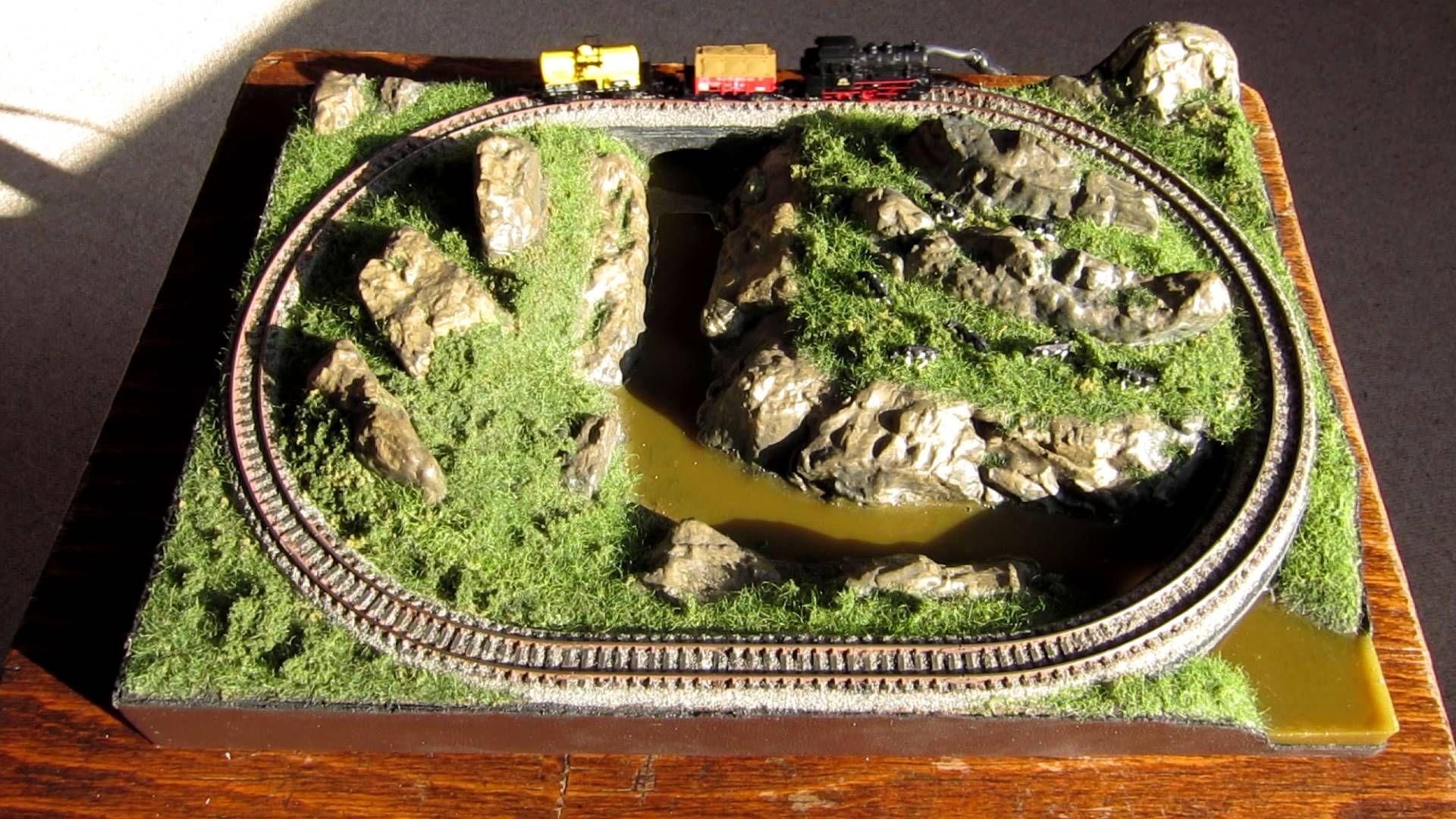 Rokuhan Spur Z Modelleisenbahnanlage A4 Rokuhan Z Scale Model Train La Modelleisenbahn Anordnung Marklin Gleisplan Modelleisenbahnanlagen