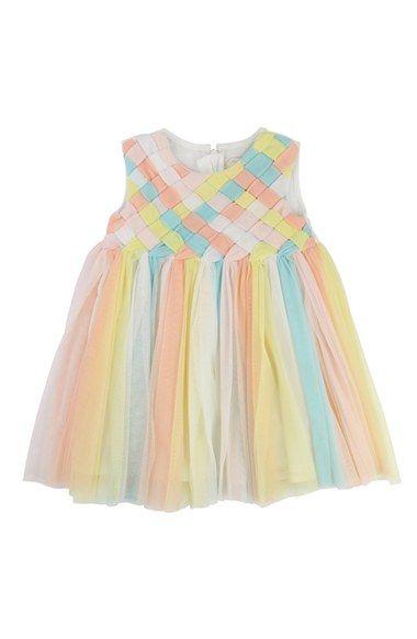 Billieblush Sleeveless Tulle Dress (Baby Girls)