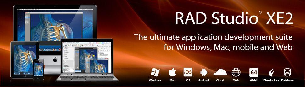 Embarcadero RAD Studio | Delphi | App development, Delphi