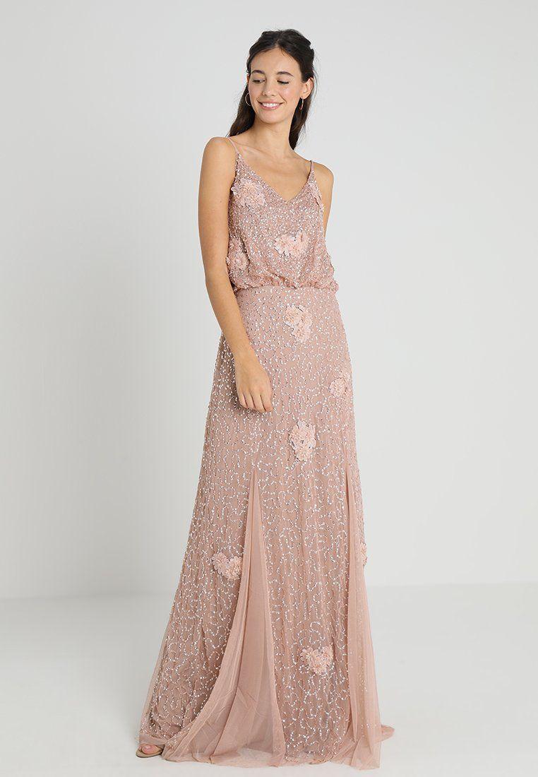 e033c854b7 ALICE MAXI - Suknia balowa - mink @ Zalando.pl 🛒 | cheap glam ...