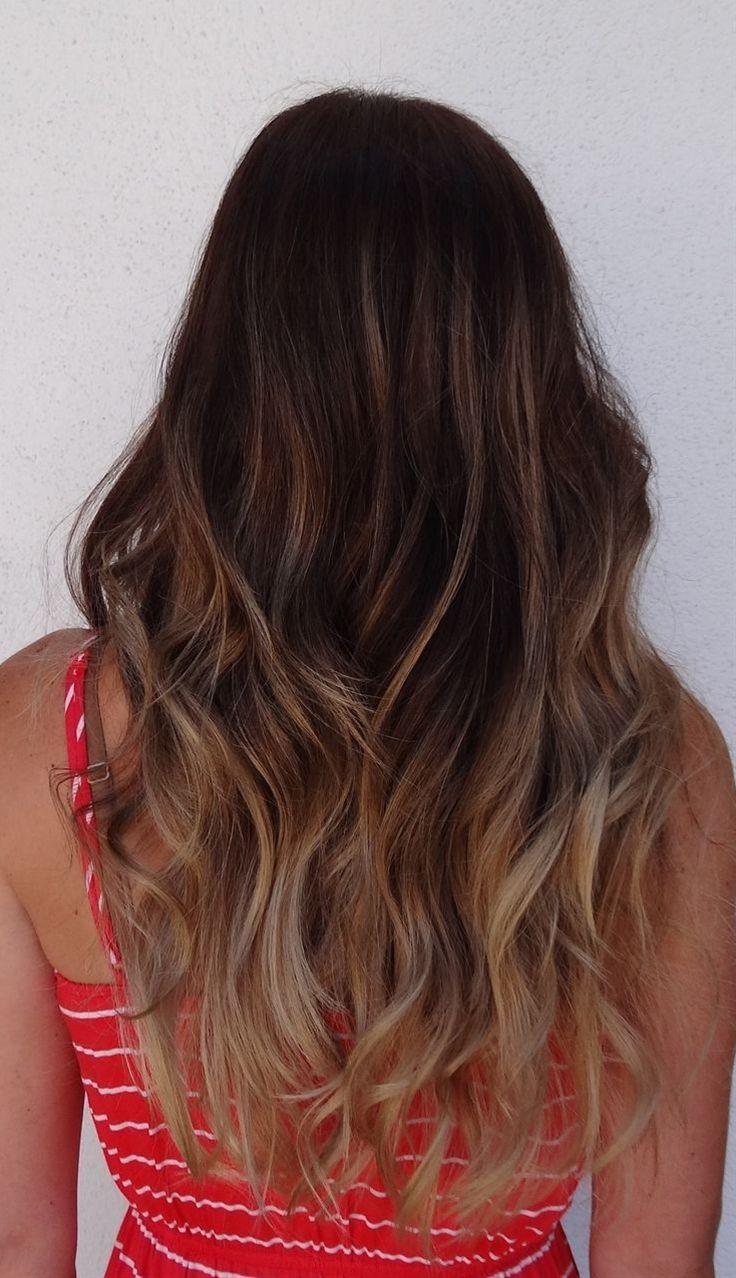Dark Brown To Light Brown Ombre Hair Hair Styles Light Brown Ombre Hair Ombre Hair