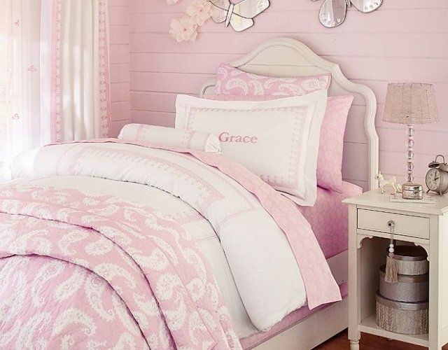 88 id es cool de d co chambre enfant au charme r tro id e deco pinterest rose p le deco. Black Bedroom Furniture Sets. Home Design Ideas