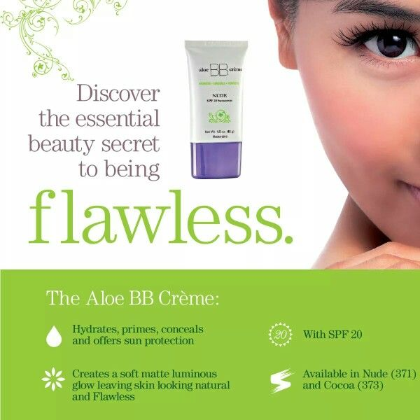 flawless by Sonya aloe BB creme COCOA SPF 10 Sunscreen (by