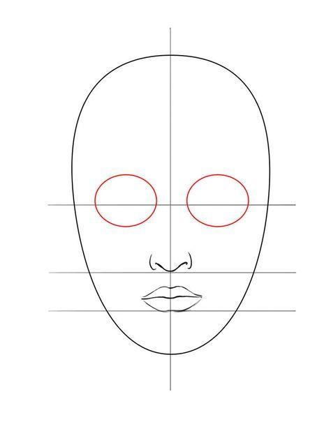 Verwonderend Een gezicht tekenen - Gezichten tekenen, Schminken ontwerpen en XX-26
