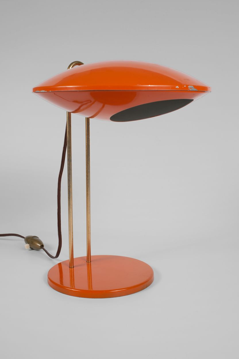 French table lamp which is apparently around two hundred big ones this seems to take its inspiration from the 1950s and 60s flying saucer lamps that were popular at the time arubaitofo Gallery