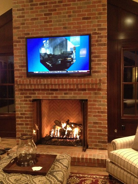 Superb Brick Mantel Non Combustible For Zero Clearance Fireplace Home Remodeling Inspirations Genioncuboardxyz