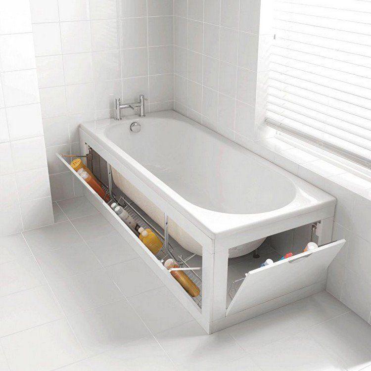Aménagement petite salle de bain en 20 idées gain de place