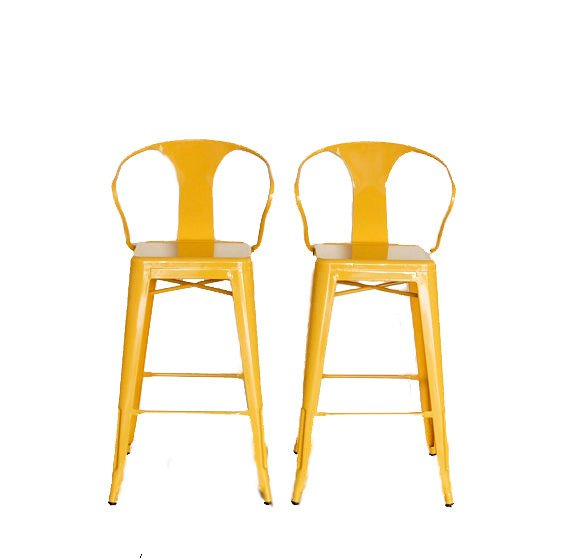 counter height arm chairs bar chair custom painted tolix style stool in 24 the color of y