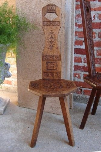 Stupendous Petite Antique English Hand Carved Wood Spinning Wheel Chair Creativecarmelina Interior Chair Design Creativecarmelinacom
