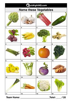Vegetables in 2020 | This or that questions, General knowledge quiz questions, Business for kids