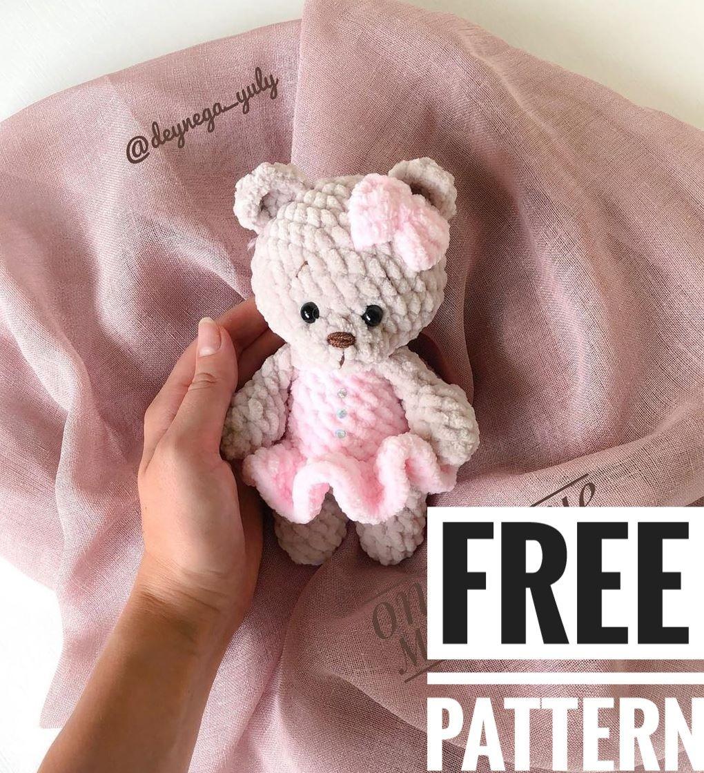 Cool Free Amigurumi Teddy Bear Pattern for 2020 - Free Amigurumi ... | 1120x1020