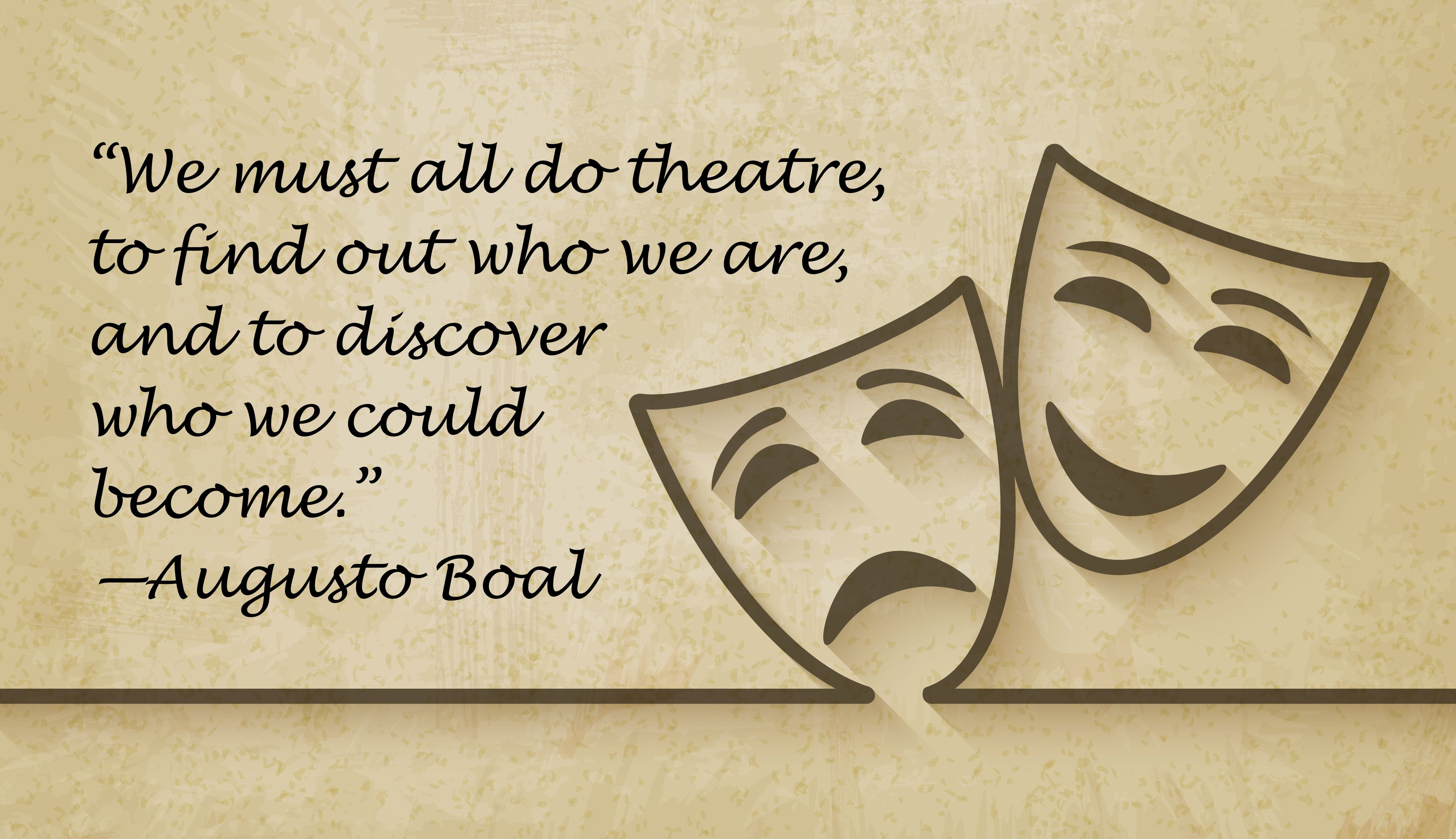 Greatest Theatre Quote Ever Dance Theatre Quotes Theatre Musicals
