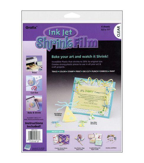 Clear Grafix Craft Plastic Sheets