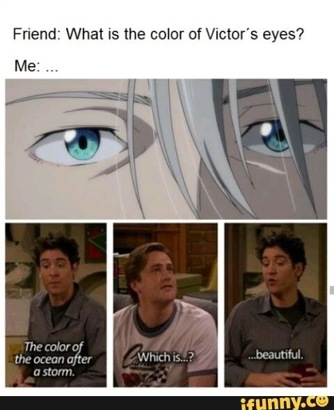 I LEGIT SAW A LIVING REPLICA OF VICTOR AT THE STORE YESTERDAY I MEAN EVEN THE WAY HE SMILED WAS THE SAME