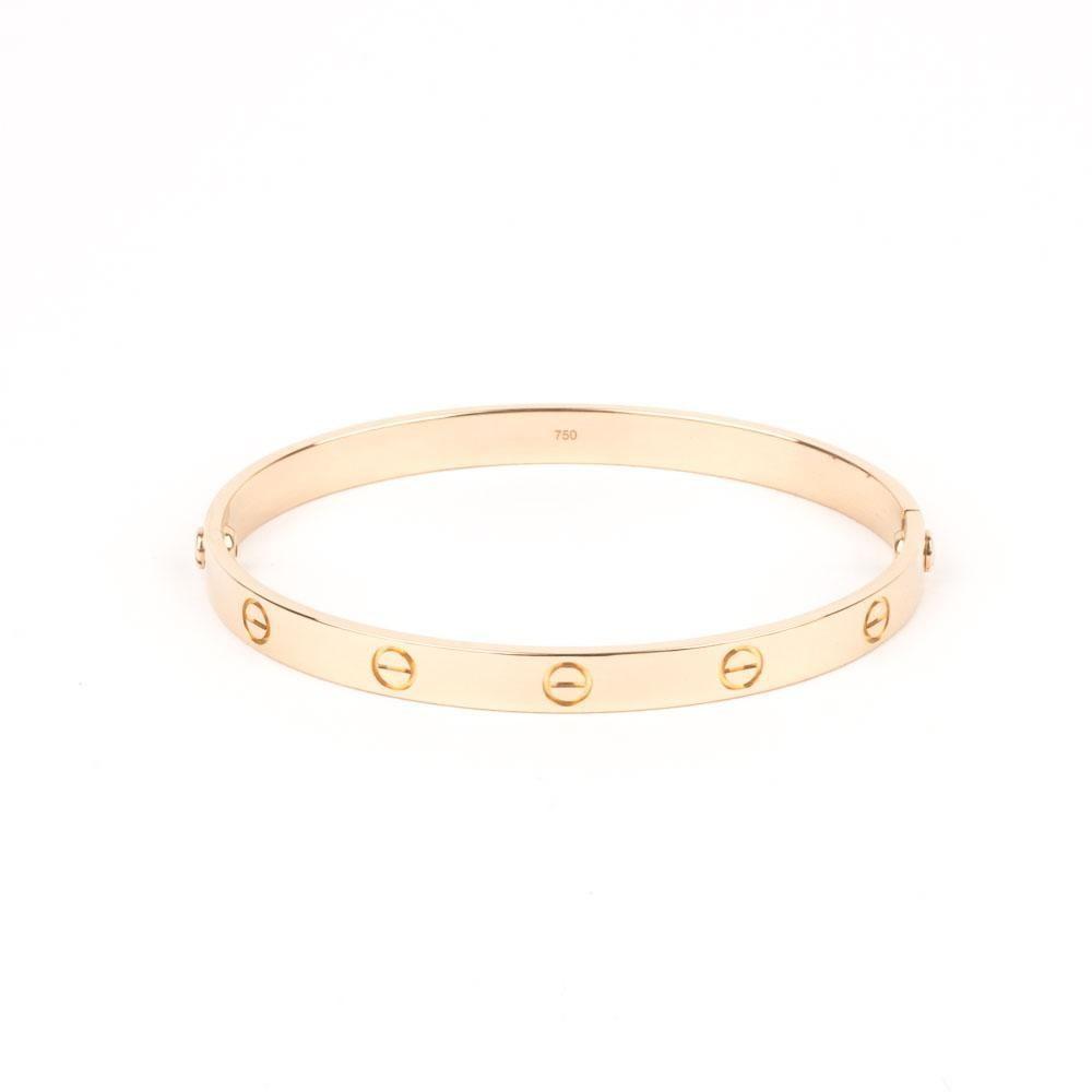 Pre Owned Cartier Love Bracelet